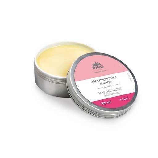 Masážní máslo, Třešňové květy, 100 ml