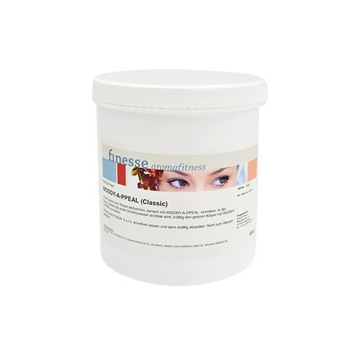 Finesse, Saunová masážní sůl, Dřevitá, 500 g