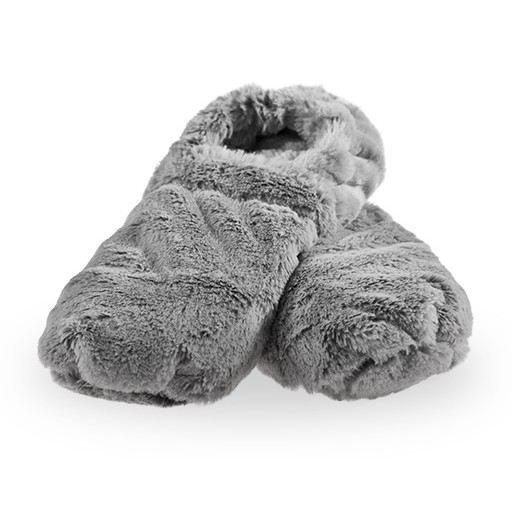 Hřejivé bačkory de Luxe - šedé L