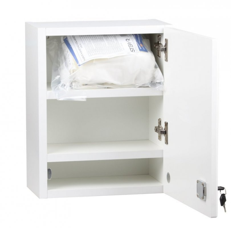 ŠTĚPAŘ Nástěnná lékárnička LUX pro 5 osob – bílá