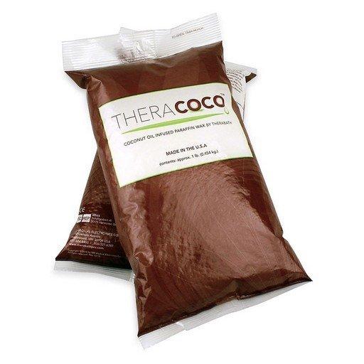 TheraCOCO Parafín čistý s kokosovým olejem, neparfemovaný, 1,36 kg, perličky