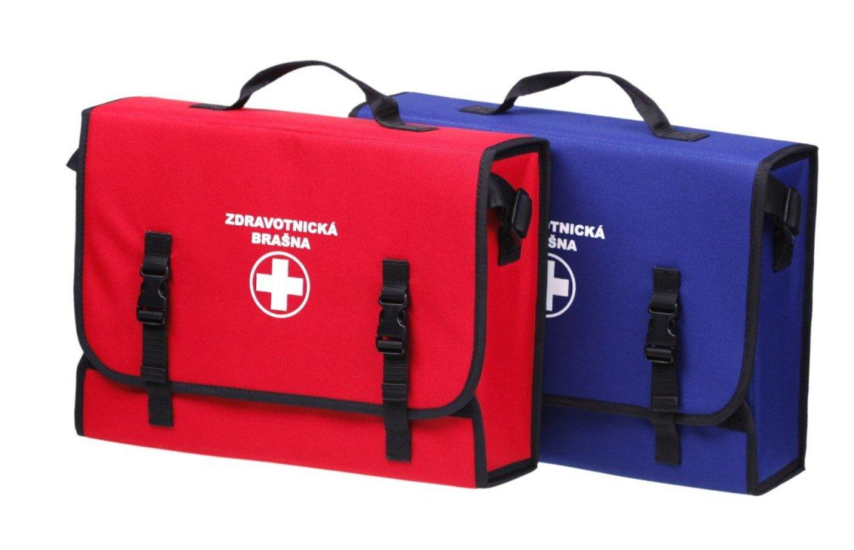 Lekárnička taška prvej pomoci pre 30 osôb modrá
