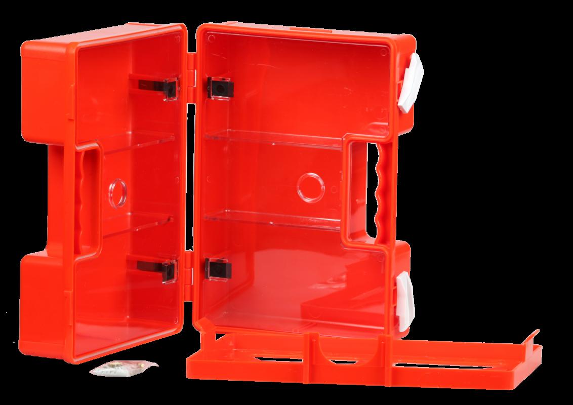ŠTĚPAŘ Plastový kufřík ABS s přihrádkami malý – prázdný