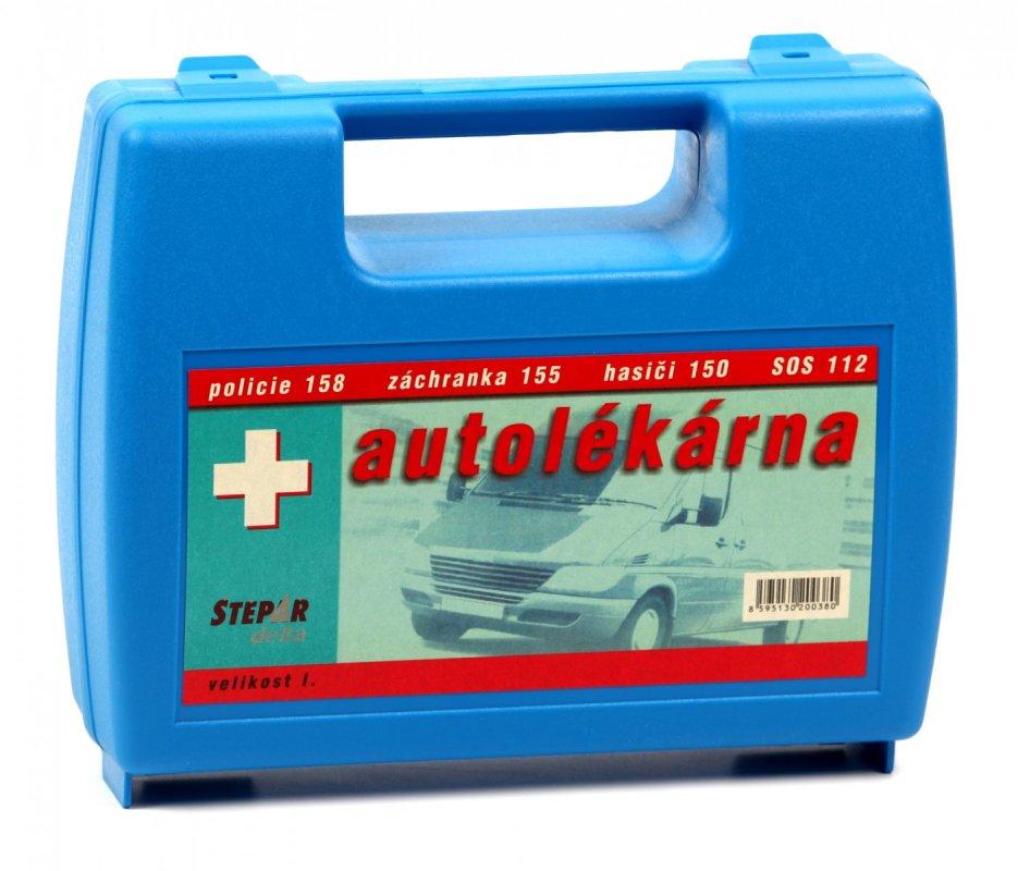 ŠTĚPAŘ Autolékárnička velikost I. – kufřík modrý
