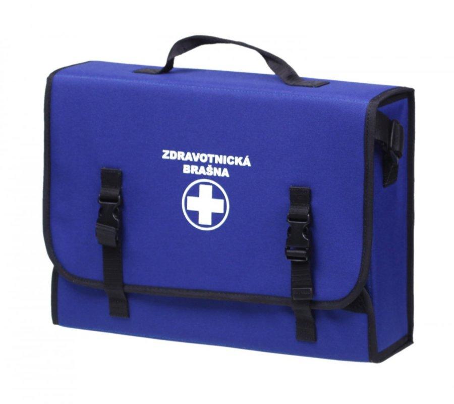 Lékárnička brašna první pomoci pro 30 osob modrá