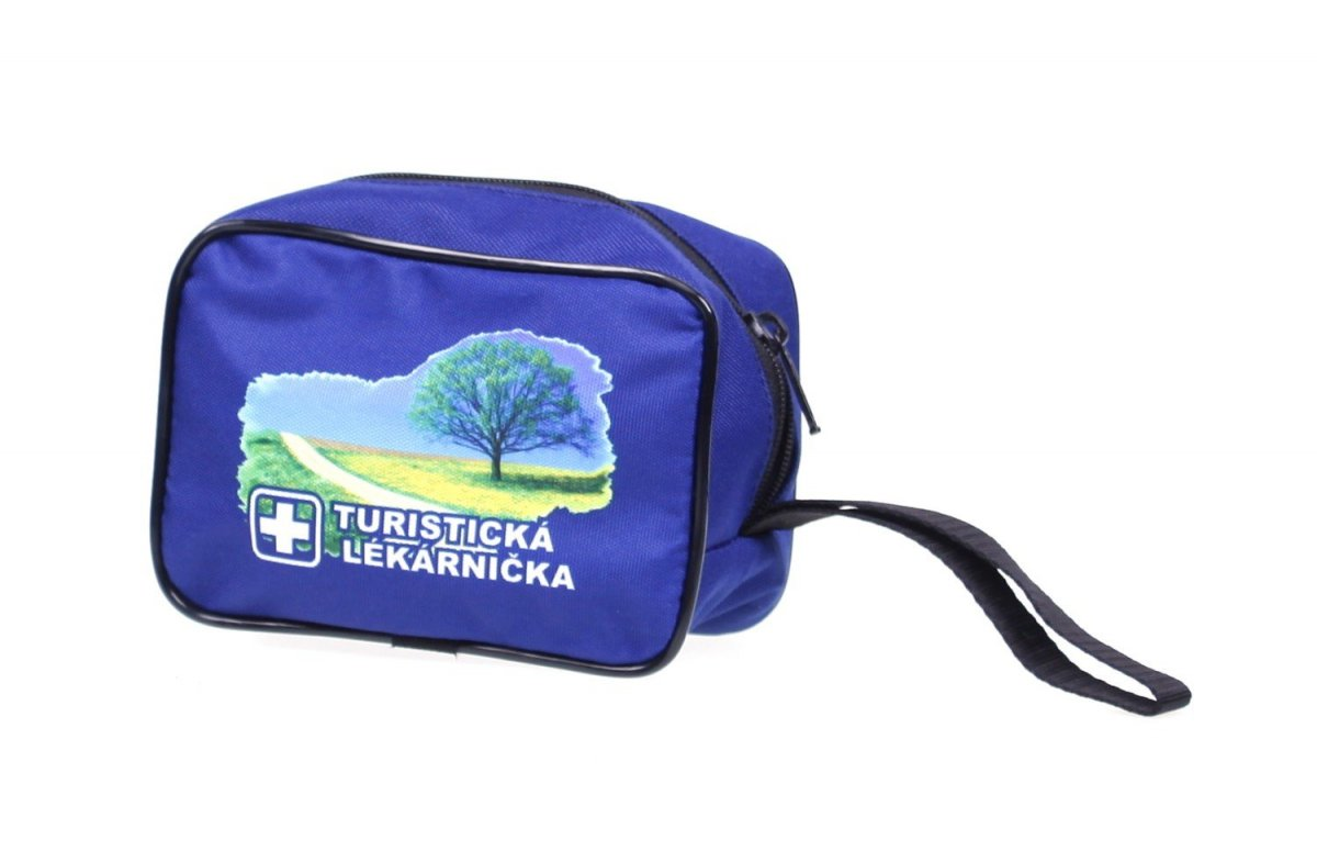 Turistická lekárnička modrá