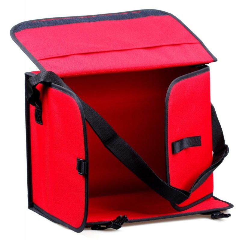 Taška prvej pomoci veľká červená prázdna
