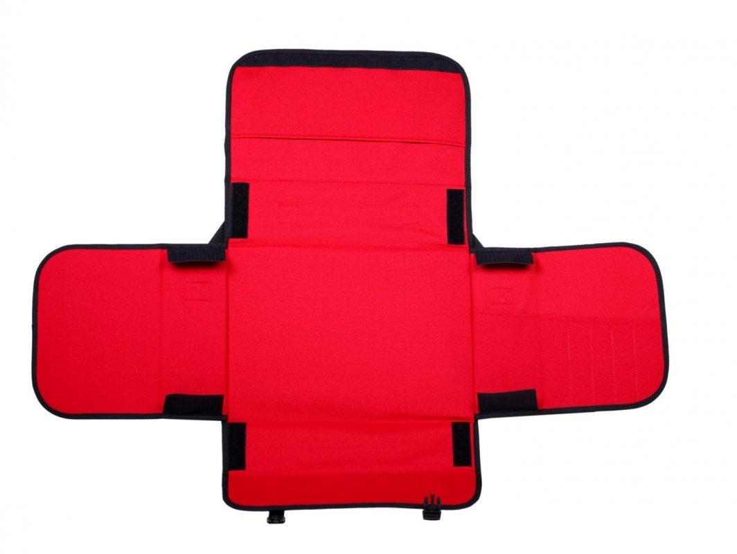 Lekárnička taška prvej pomoci pre 30 osôb červená