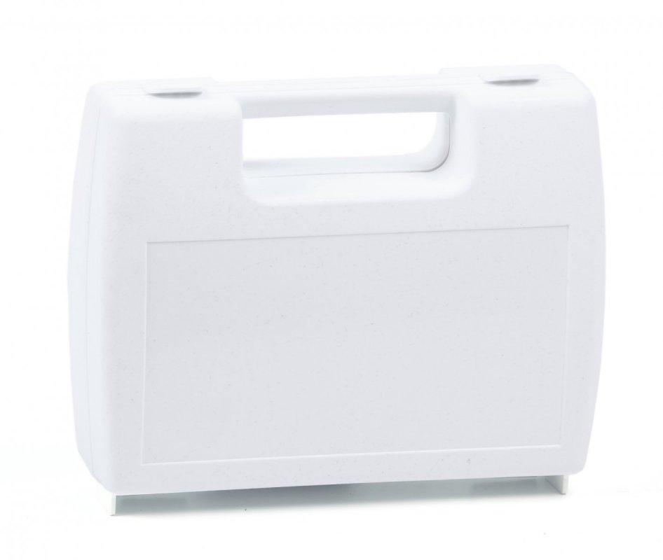 Plastový kufřík bílý