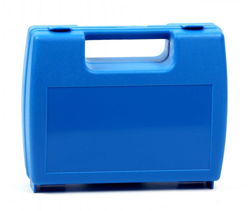 Plastový kufřík modrý