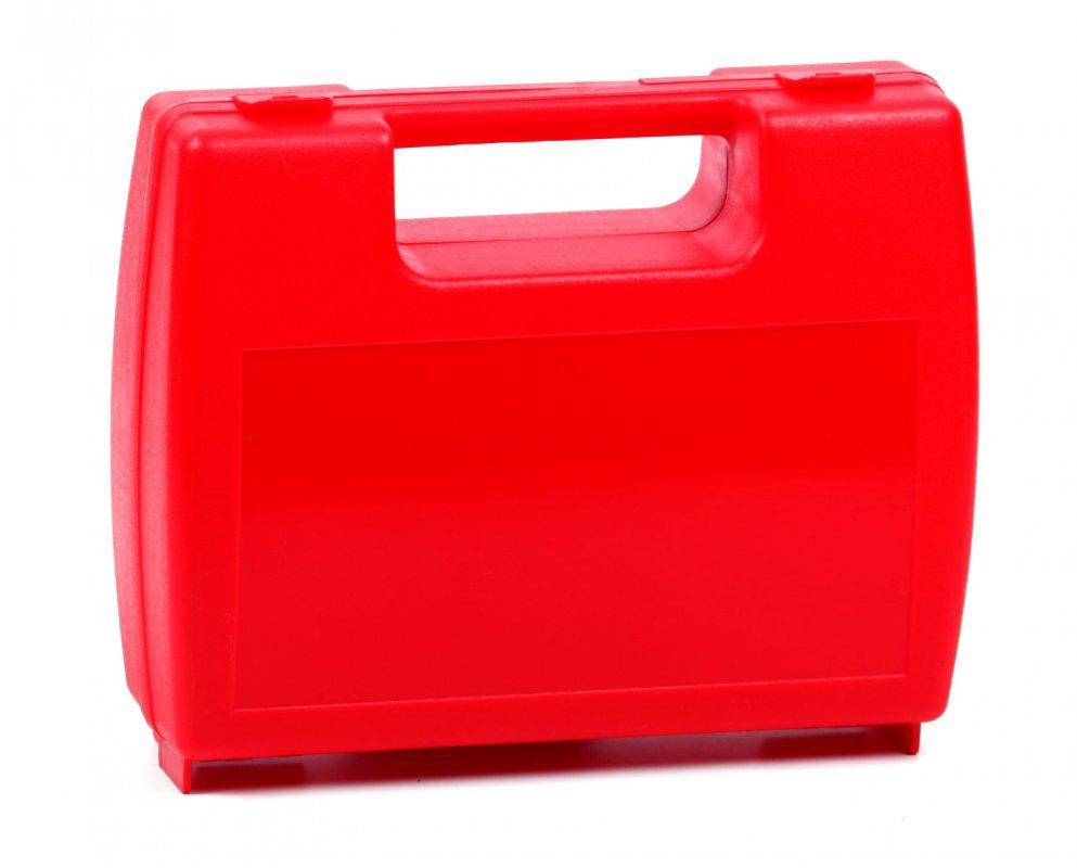 Plastový kufřík červený