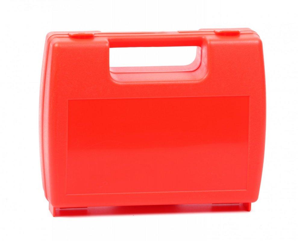 Plastový oranžový kufřík