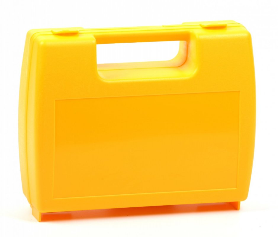 Plastový kufřík žlutý
