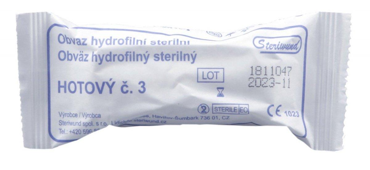 Obvaz hotový sterilní č. 3