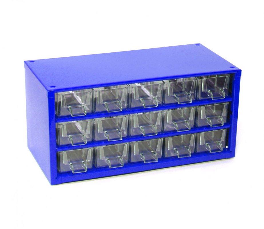 Box na nářadí 15xA - modrý