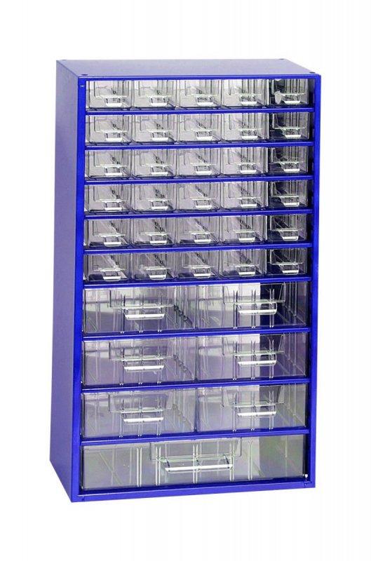 Box na nářadí MAXI - 30XA, 6XB, 1XC - modrý