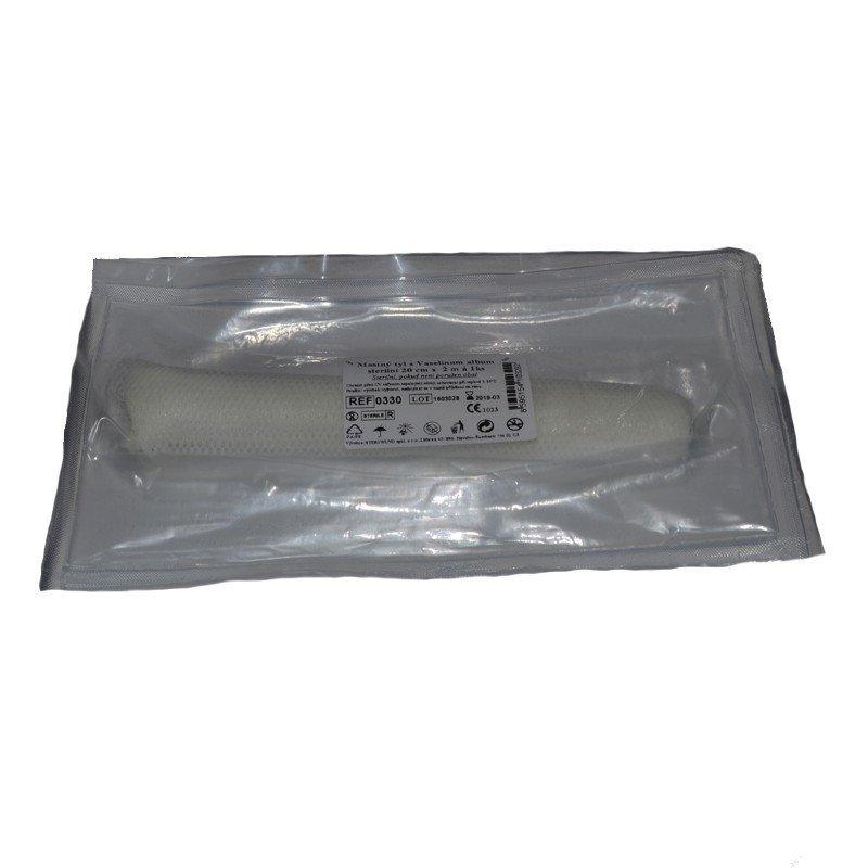 Sterilný mastný tyl 2 m a 20 cm - 1 ks