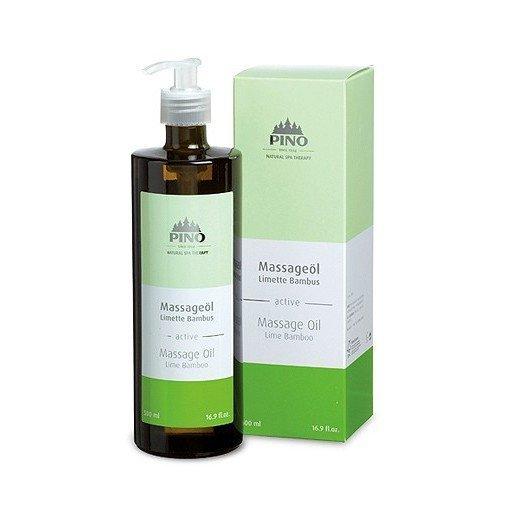 Aromatický masážny olej Limetka Bambus, 500 ml