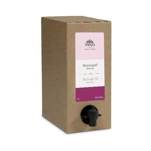 Aromatický masážní olej, Divoká růže, 3000 ml