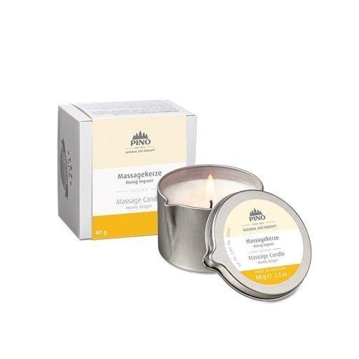 Masážní svíčka - med a zázvor, 60g
