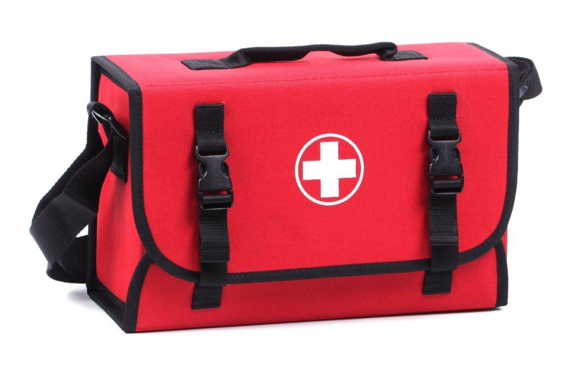 Lékárnička - červená brašna první pomoci