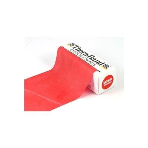 Thera-Band, červená, střední zátěž, 5,5 m