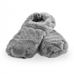Hrejivé papuče de Luxe - šedé L