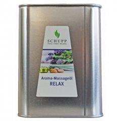 Aromatický masážní olej, Relax, 2500 ml