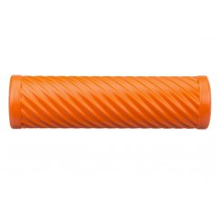 Cvičebný valec pre fasciálnej tréning, s vlnami, oranžový
