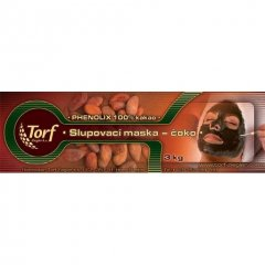Kakaová slupovací maska na obličej, čokol., 3 kg