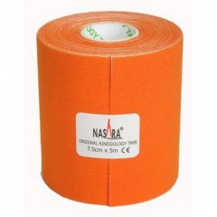 Nasar Tejp, oranžový, 7,5 cm x 5 m