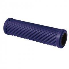 Cvičebný valec pre fasciálnej tréning, s vlnami, lila