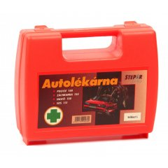 ŠTĚPAŘ Autolékárnička velikost I. – kufřík oranžový