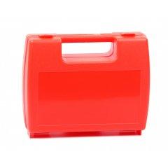 Plastový kufřík prázdný oranžový