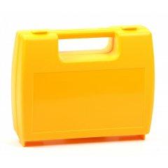 Plastový kufřík prázdný žlutý