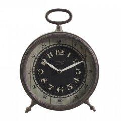 Stolní hodiny kovové 28 cm
