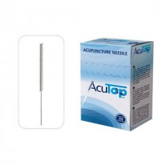 AcuTop akupunktúrne ihly, typ KB, 0,25 x 40 mm, 100 kusov