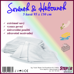 Savánek & Hebounek 95 cm x 150 cm – 5 ks