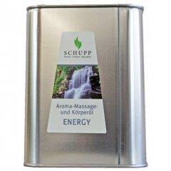 Aromatický masážní a tělový olej Energy, 2500 ml
