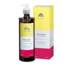 Aromatický masážní olej, Ibišek Citrón, 500 ml