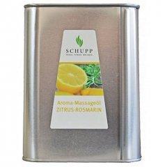 Aromatický masážní olej, Citrusy Rozmarýn (Active),2500 ml