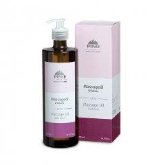 Aromatický masážní olej, Divoká růže, 500 ml