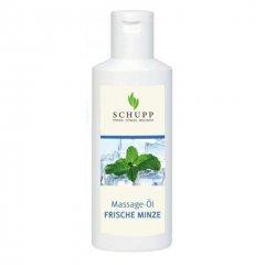 Masážní olej čerstvá máta - 200 ml