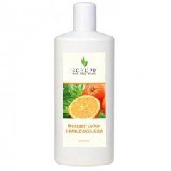 Masážní emulze Pomeranč, bazalka - 1000 ml