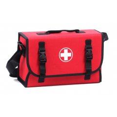 Lékárnička brašna první pomoci pro 10 osob červená