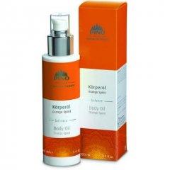 Aromatický tělový olej, Orange Spirit, 100 ml
