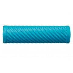 Cvičebný valec pre fasciálnej tréning, s vlnami, modrý