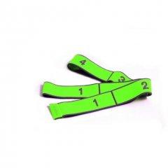 PINOFIT® Stretch Band,zelená, silná zátěž, 1 m