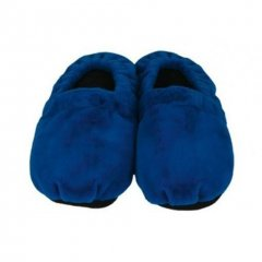 Hrejivé papuče - modré L