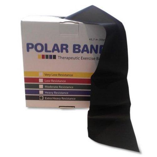 Torf Band Latex Free, černá - extra silná zátěž, 45,7 m
